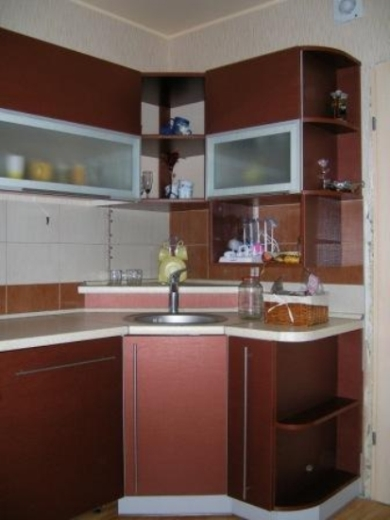 Bordo virtuvės baldai